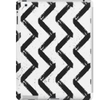 Black & White Chevron iPad Case/Skin