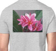 Pink Plumeria Unisex T-Shirt