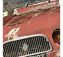 The forgotten old car Photographic Print