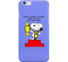 Champion Snoopy iPhone Case/Skin