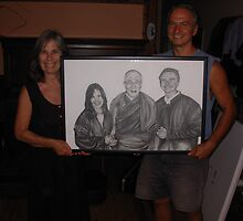 Here is bo and Sita with the finished piece by perfectpencil