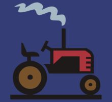 TRACTOR FARM WORK TRUCK  by SofiaYoushi