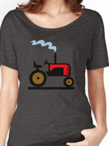 TRACTOR FARM WORK TRUCK  Women's Relaxed Fit T-Shirt