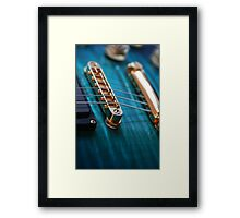 Play It. Framed Print