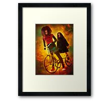 Meet the Syni'ster Sisters... Framed Print