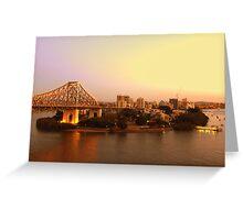 Kangaroo Point, Brisbane Greeting Card