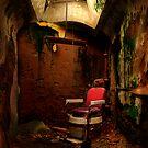 Prison barber shop by Miron Abramovici