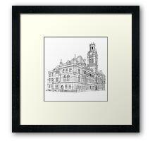Barrow Town Hall Framed Print