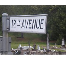 12th avenue Photographic Print