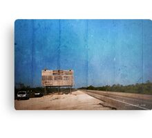 Available advertising space  Metal Print