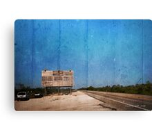 Available advertising space  Canvas Print