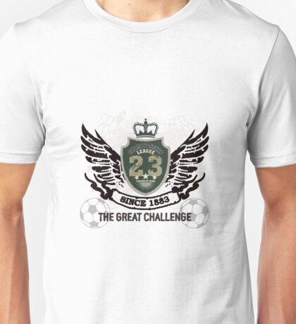 Grunge Badge Design Unisex T-Shirt