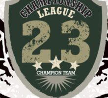 Grunge Badge Design Sticker
