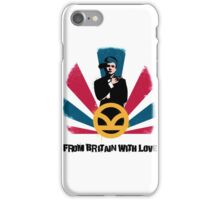 From Britain with love iPhone Case/Skin