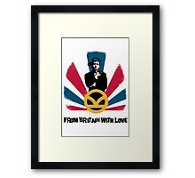 From Britain with love Framed Print