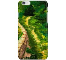 Road to the forest iPhone Case/Skin