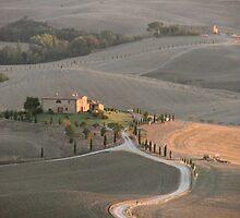 Tuscan Farmland in late summer by Jaycee2009