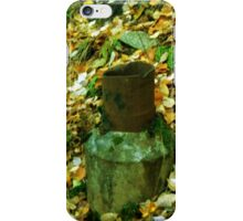 A piece of history in colour or wierd art iPhone Case/Skin