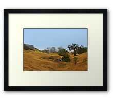 Cambria Fields Framed Print