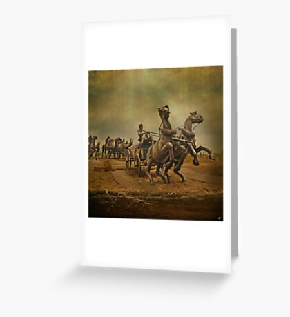 The Precipice' Edge Greeting Card