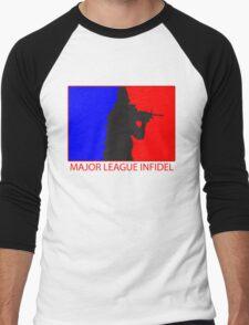 Major League Infidel Men's Baseball ¾ T-Shirt