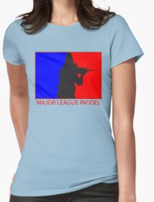 Major League Infidel Womens Fitted T-Shirt