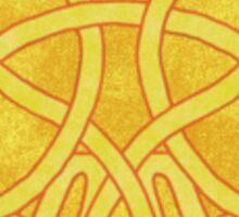 Celtic Angel Design Sticker