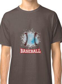 Vector grunge baseball  Classic T-Shirt
