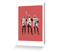 The United Trinity Greeting Card