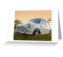 Mini Cooper S 1967  Greeting Card