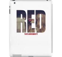 Taylor Swift (RED) iPad Case/Skin