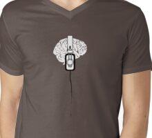 Brain Tuned Mens V-Neck T-Shirt