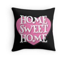 HOME SWEET HOME heart Throw Pillow