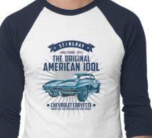 Chevrolet Corvette C2 Sting Ray 1966 Men's Baseball ¾ T-Shirt