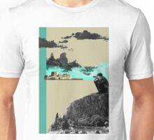 A Homeland souvenir #3: The castle and the clouds. Unisex T-Shirt