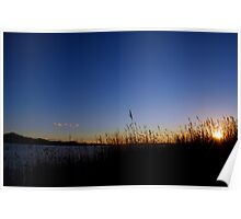 Sunset at Marlo Poster