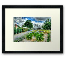 Something In Common - Clunes, Victoria - The HDR Experience Framed Print
