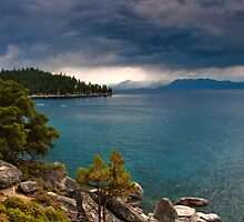 Storms over Tahoe by bonsta