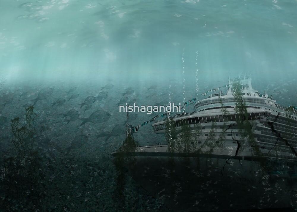 Sunken ship by nishagandhi