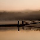 Misty Autumn Waters # 2 by peaceofthenorth