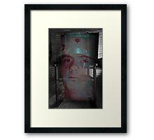 AUDACITY OF DE SEAT Framed Print