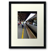 I'll be seeing you! Framed Print