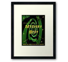 The Mystery Spot - new Supernatural design! Framed Print
