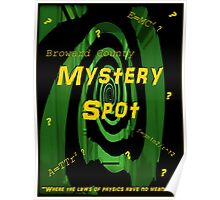 The Mystery Spot - new Supernatural design! Poster