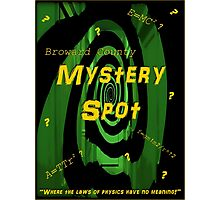 The Mystery Spot - new Supernatural design! Photographic Print