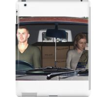 Driving to new home iPad Case/Skin