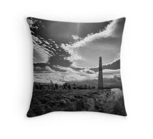 Changing times in the blowing of the wind Throw Pillow