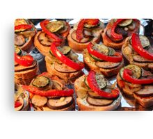 Finger Food V Canvas Print