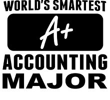 World's Smartest Accounting Major by GiftIdea