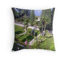 Borromeo Gardens - Isola Madre Throw Pillow